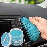 TICARVE Auto Reinigungsgel für den Innenraum, Weicher und Flexibler Tastatur Reiniger, Staubschutzkleber aus umweltfreundlichem, Universeller Staubreiniger für Auto, Computer, Drucker,