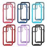 Stoßfeste Handyhülle Kompatibel mit iPhone 13 mini Case,5.4 inch,TPU Farbe Rundumschutz,Abnehmbare Anti-Drop-Handyhülle Bumper-Case,Flexible Kratzfest Schutzhülle Hülle mit MagS