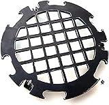 Becker Design Branding Grillrost 6mm für Feuerplatte | Plancha | Grillplatte mit 20cm F