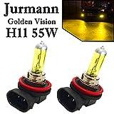 2x Jurmann Trade H11 55W 12V Original Golden Vision Gelb Yellow Scheinwerfer Ersatz Halogen Lampe E-geprü