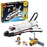 LEGO 31117 Creator 3 in 1 Spaceshuttle-Abenteuer Weltraum Spielzeug für Kinder ab 8 Jahre mit Astronauten Fig
