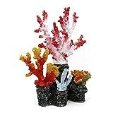 SASAU Aquarium Dekorationen Neue Aquarium Dekoration Zubehör Großes Harz Riff Korallen Pflanzen Fischbehälter Landschaftsgestaltung Exquisite Ornamente Aquascape D