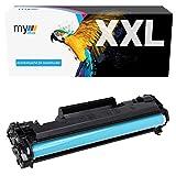 MYOFFICE Toner kompatibel mit HP M15a M15w M16 M17a M17w MFP M28a MFP M28w MFP 29 MFP M30a MFP M30w Schwarz CF244A 44A Drucker 1000 Seiten 1er Pack Z