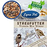 Lyra Pet® 10 kg Streufutter aus der ALB-MÜHLE Winter-Protein-Mix Wildvogelfutter Vogelfutter Wildvögel Vögel Fettfutter Mehlwü