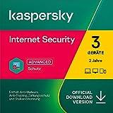 Kaspersky Internet Security 2021 | 3 Gerät | 2 Jahre | PC/Mac/Mobile | Aktivierungscode per E