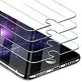 Beikell Panzerglas für iPhone SE 2020, iPhone 8, iPhone 7, iPhone 6S und iPhone 6, Gehärtetes Glas Schutzfolie, 9H Härte, Kratzfest, Blasenfrei, 4 Stück