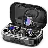 Judneer Bluetooth Kopfhörer, Bluetooth 5.0 Kabellos Kopfhörer In Ear Sport Kopfhörer mit CVC 8.0 Noise Cancelling, HiFi Stereo Sound Ohrhörer mit HD Mikrofon, mit 56Stunden Spielzeit, IP7 W