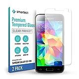 smartect Schutzglas kompatibel mit Samsung Galaxy S5 mini [2 Stück] - Tempered Glass mit 9H Härte - Blasenfreie Schutzfolie - Anti-Kratzer Display