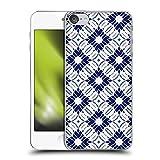 Head Case Designs Offizielle Zugelassen Jacqueline Maldonado Sibori Blau Muster 2 Harte Rueckseiten Handyhülle Hülle Huelle kompatibel mit Apple Touch 6th Gen/Touch 7th G