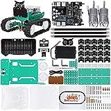 ELEGOO Owl Smart Robot Car Kit V2.0 mit Nano V4, Line Tracking Module,Infrared Photoelectric Sensor, Ultrasonic Sensor usw. Intelligentes und lehrreiches Toy Car Robotic Kit für Arduino L