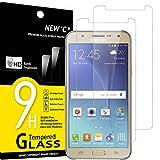 NEW'C 2 Stück, Schutzfolie Panzerglas für Samsung Galaxy J5 2015, Frei von Kratzern, 9H Härte, HD Displayschutzfolie, 0.33mm Ultra-klar, Ultrabeständig