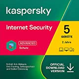 Kaspersky Internet Security 2021 | 5 Gerät | 2 Jahre | PC/Mac/Mobile | Aktivierungscode per E