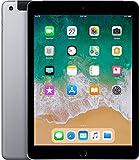 Apple iPad 9,7' Display Wi-Fi + Cellular 32GB - Space Grau (Generalüberholt)