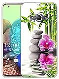 Sunrive Kompatibel mit Samsung Galaxy Xcover 3 Hülle Silikon, Transparent Handyhülle Schutzhülle Etui Case (X Blume)+Gratis Universal Eingabestift MEHRWEG