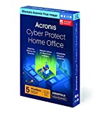 Acronis Cyber Protect Home Office (ehemals Acronis True Image) | Essentials Version | 5 PC/Mac | Cyber Protection-Lösung für Privatanwender | Backups, Imaging, Ransomware-Schutz, etc. | 1-J