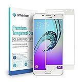 smartect Schutzglas kompatibel mit Samsung Galaxy A5 2016 [FULL ] - Tempered Glass mit 9H Härte - Schutzfolie bedeckt ganzes Display komplett Full C