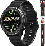 Smartwatch, Fitness Tracker 1,3 Zoll TFT-Display Fitness Armbanduhr mit Pulsuhr Schlafmonitor, Sportuhr Schrittzähler Uhr, Stoppuhr IP68 Wasserdicht für Herren Damen Smart Watch für iOS