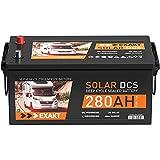 Solarbatterie 12V 280Ah EXAKT DCS Wohnmobil Versorgung Boot Solar B