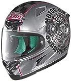 X-lite X-802RR Cafe Club Integralhelm Motorrad Verbundfaser - Chrom Größe M