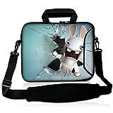 15'- 15,6' Zoll Tablet - Laptop - Notebook MacBook - Tasche mit Griff und Tragetasche Schutzhaut mit Taschen zur Aufbewahrung von Zubehör - langlebige Farbvielfalt von Funky