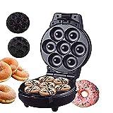 Muffinmaschine,Donut 2 in 1, Waffeleisen, Sandwichmaker mit Abnehmbaren Tellern, Antihaft-Backform, Verwendet in Haushaltsküchen, Geschenken, 600W
