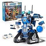 Roboter Bausatz Programmierbarer and ferngesteuerter 405 Teile per APP und Fernbedienung Technik Spielzeug Geschenk ab 7 Jahren für Jung