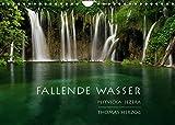 FALLENDE WASSER (Wandkalender 2022 DIN A4 quer)