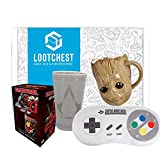 lootchest Jumbo - Überraschungsbox für Gamer und Nerds (inkl. T-Shirt) (Girlie Large)