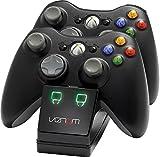 Venom Twin Docking Station für Xbox 360 - Ladestation für Xbox 360 Controller inklusive 2 Zusatz Akk