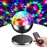 Sternenhimmel Projektor Nachtlicht Sternenhimmel Discokugel mit 7 Beleuchtungsmodi, Bluetooth Lautsprecher und Fernbedienung, LED Discolicht Perfekt Halloween Dekoration für Kinder, Party, Tanzparty