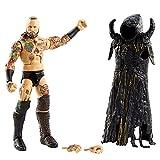 WWE GVB64 - Aleister Black Elite Collection Actionfigur, ca. 15cm, beweglich, Geschenk zum Sammeln für WWE Fans, ab 8 J