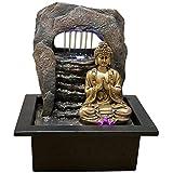Zen'Light Brunnen Zen Dao Harz, Bronze, 21 x 17 x 25