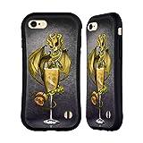 Head Case Designs Offiziell Offizielle Stanley Morrison Gold Champagnerglas Drachen Hybride Handyhülle Hülle Huelle kompatibel mit Apple iPhone 7 / iPhone 8 / iPhone SE 2020