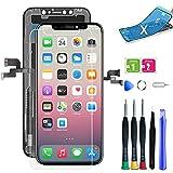 Display für iPhone x mit Reparaturset Ersatz für LCD Touchscreen Digitizer (iPhone x Display