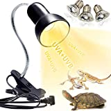 Schildkröten Wärmelampe Reptilien Terrarium Lampe, 25W 50W Reptilien Heizlampe UV Wärmespotlampe E27 UVA+UVB Wärmestrahler Aquarium Tiere zubehör für Schildkröte, Eidechse, Schlange,Spinne, Amphib