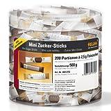 Hellma Mini Zucker-Sticks - Runddose à 200 Stück