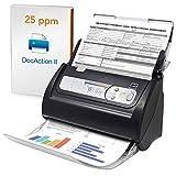 Plustek Smartoffice PS186 - Desktop Dokumentenscanner (Beidseitiges Scannen, DIN-A4, 600dpi), Für Wins & M