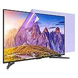 AWSAD Bildschirmschutz 32-75 Zoll Anti- Blaulichtfilter Kratzfest Geeignet für LCD, LED, 4K OLED& QLED Und Curved (Color : Matte Version, Size : 46 inch 1017x570mm)
