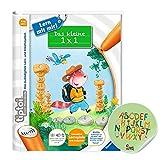 Ravensburger tiptoi ® Buch | Das kleine 1 x 1 - Lern mit mir! + Buchstaben Kinder Sticker - 1x1 Einmaleins R