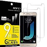 NEW'C 2 Stück, Schutzfolie Panzerglas für Samsung Galaxy J5 2016, Frei von Kratzern, 9H Härte, HD Displayschutzfolie, 0.33mm Ultra-klar, Ultrabeständig