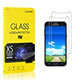 [2 Stück] Conber Panzerglas Schutzfolie für Samsung Galaxy J3 Prime, [9H Härte][Anti-Kratzen][Anti-Öl][Anti-Bläschen] Panzerglasfolie Displayschutz für Samsung Galaxy J3