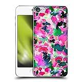 Head Case Designs Offizielle Zugelassen Jacqueline Maldonado Pink und Grün Blumen Harte Rueckseiten Handyhülle Hülle Huelle kompatibel mit Apple Touch 6th Gen/Touch 7th G