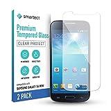 smartect Schutzglas kompatibel mit Samsung Galaxy S4 mini [2 Stück] - Tempered Glass mit 9H Härte - Blasenfreie Schutzfolie - Anti-Kratzer Display