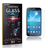 Conber [1 Stück] Displayschutzfolie kompatibel mit Samsung Galaxy S4, Panzerglas Schutzfolie für Samsung Galaxy S4 [9H Härte][Hüllenfreundlich]