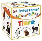 Erstes Lernen Stapelwürfel. Tiere: 10 stabile Karton-Würfel ab 1 Jahr mit tollen Fotos zum Spielen, Entdecken und B