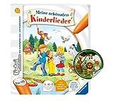 Collectix Ravensburger tiptoi ® Buch | Meine schönsten Kinderlieder + Kinder Tier-Sticker, Liederbuch ab 4 J