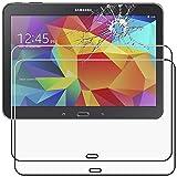 ebestStar - kompatibel mit Samsung Galaxy Tab 4 10.1 Panzerglas x2 SM-T530, T533 T531 T535 Schutzfolie Glas, Schutzglas Displayschutz, Displayschutzfolie 9H gehärtes Glas [Tab: 243.4x176.4x8mm 10.1']