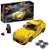 LEGO 76901 Speed Champions Toyota GR Supra Rennwagen, Spielzeugauto, Modellauto zum selber B