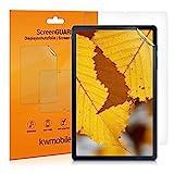 kwmobile 2X Schutzfolie kompatibel mit Samsung Galaxy Tab S6 Lite - Folie entspiegelt Full Screen Tab