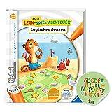 Ravensburger tiptoi ® Buch | Logisches Denken - Mein Lern-Spiel-Abenteuer + ABC Buchstaben Lernen Stick